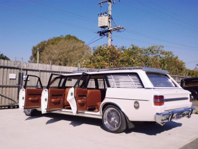 1970 Ford 6-Door XY Falcon